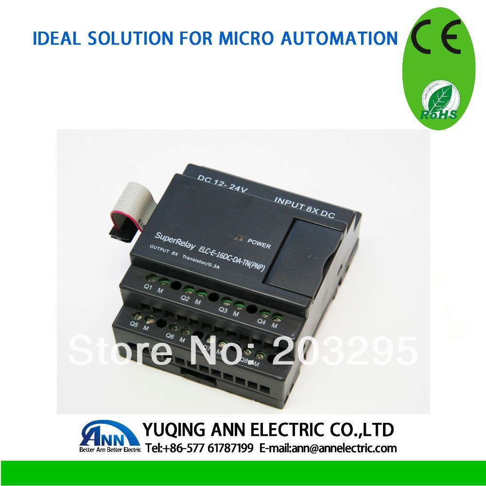 PLC (Programmable logic controller) Temperature Module (3ch) ELC-E-PT100 - Yueqing Ann Electric Co., Ltd. store