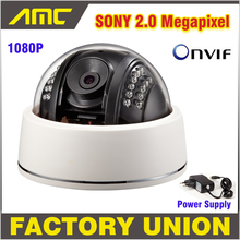 High Quality IP Camera outdoor 1080P 2.0 Megapixel CCTV Camera IP HD Onvif NightVision Video Surveillance Camera with Cover(China (Mainland))