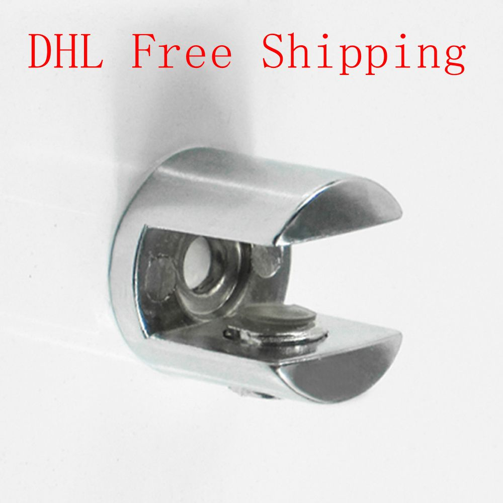 DHL Free Shipping 20Pcs/lot Zinc Alloy Adjustable G Clamp Wood Shelf Brackets Office Decorative Hinges Can Hold Glass 6 to10mm(China (Mainland))