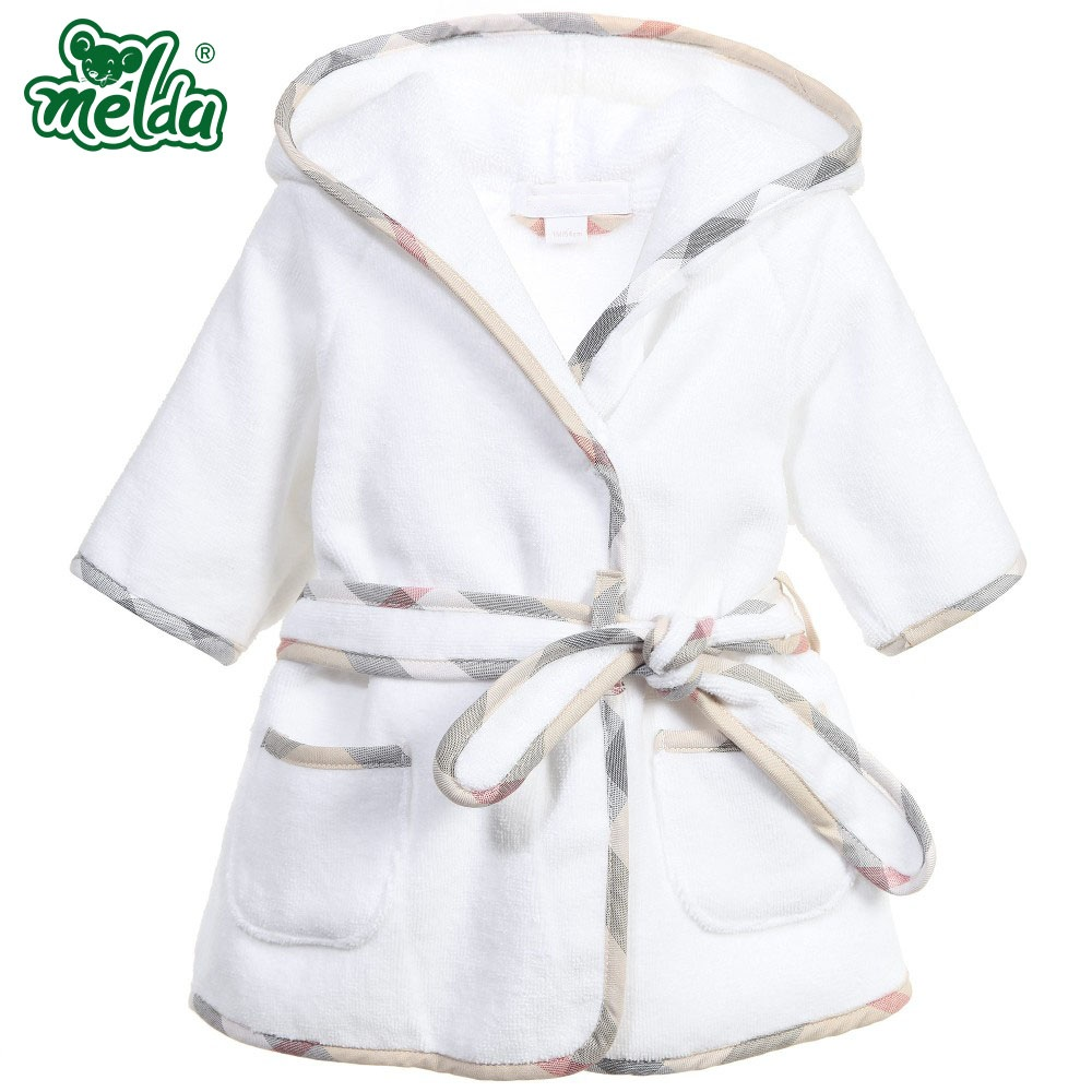 Children's Pajamas Robe Girls Bathrobes Baby Homewear Boys Girls Cartoon Home Wear Baby Girl Dressing Gown Peignoire Enfant(China (Mainland))