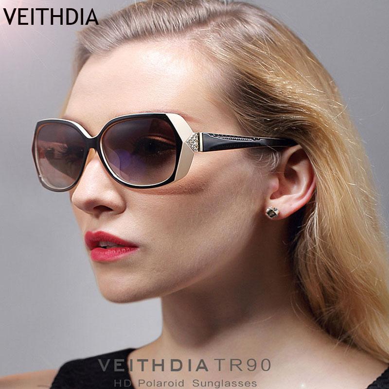 VEITHDIA Fashion Sunglasses Women Polarized Lens Eyes Protect Sun Glasses Ladies Brand Designer Vintage Oculos De Sol(China (Mainland))