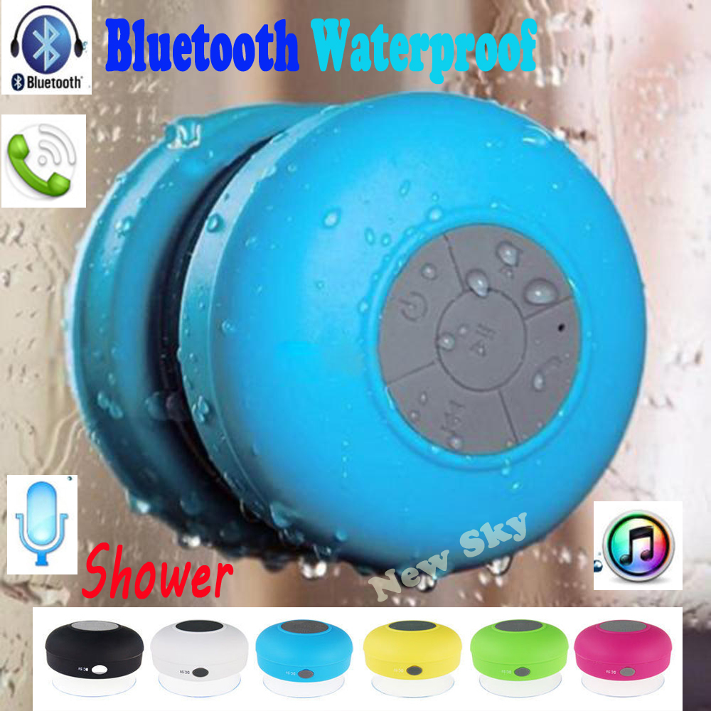 Bleutooth Shower Blutooth Wireless Subwoofer Mini Portable Bluetooth Speaker Audio Receiver Waterproof Music USB Hoparlor Phone(China (Mainland))