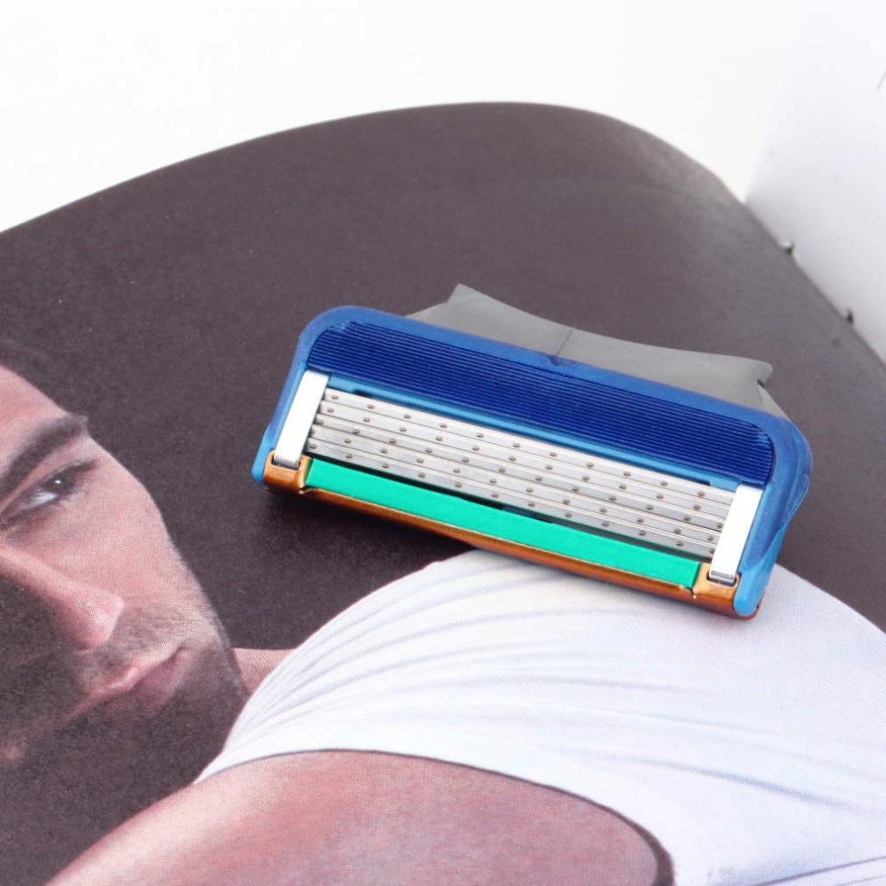 Hot New 8pcs/lot wholesale Men's Face shaving Razor Blade Shaver Blades,Shaving razor Blades For Men Sharpener RU/EU/US Razors(China (Mainland))