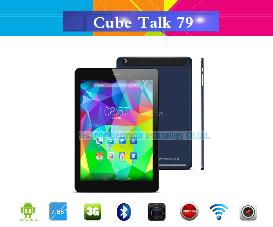 Cube Talk79 U55GT C8 MT8392 Octa Core 3G Tablet PC Phone Call 7 85 inch 2048x1536