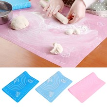 Buy 29*26cm Silicone baking mat Kneading dough mat Non-stick Silicone baking rolling pastry mat Cake Tool Sugarcraft table pad Y1 for $2.59 in AliExpress store