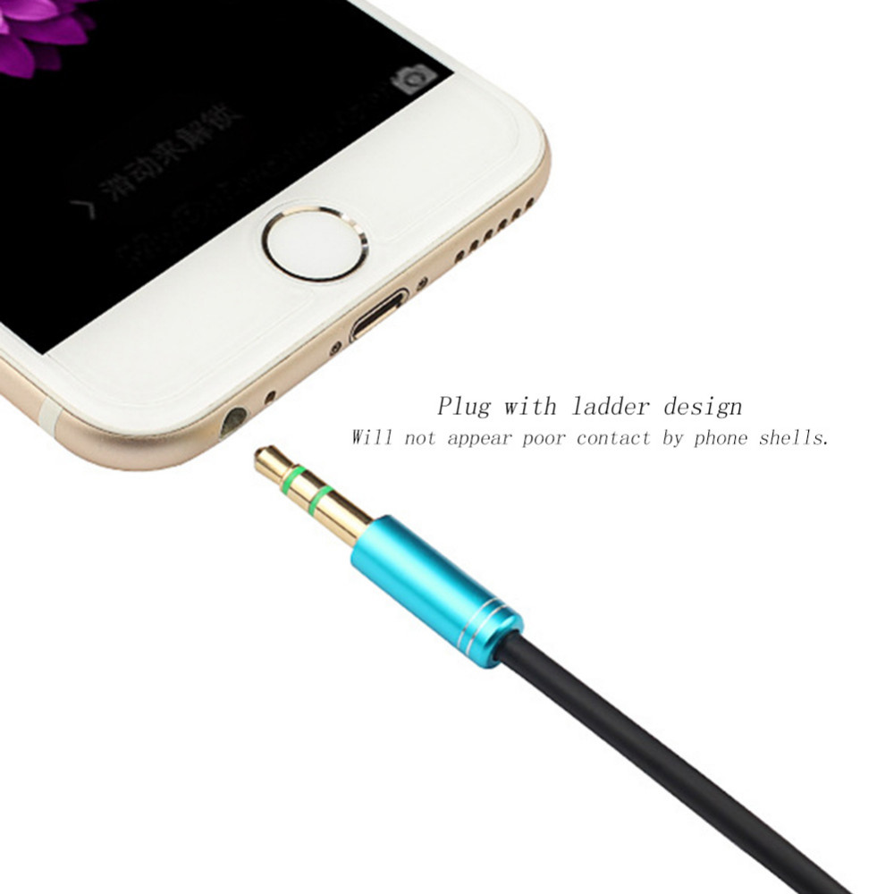 New 3.5mm Jack Stereo Audio Extension Cable 1m 1.5m 2m 3m Male to Female Adapter Colorful Headphone Beats Speaker AUX Cord