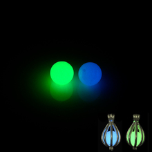 Buy 40Pcs 8mm Green Blue Luminous Noctilucent Glow Dark Balls Necklace Pendants Locket DIY Jewelry for $5.46 in AliExpress store