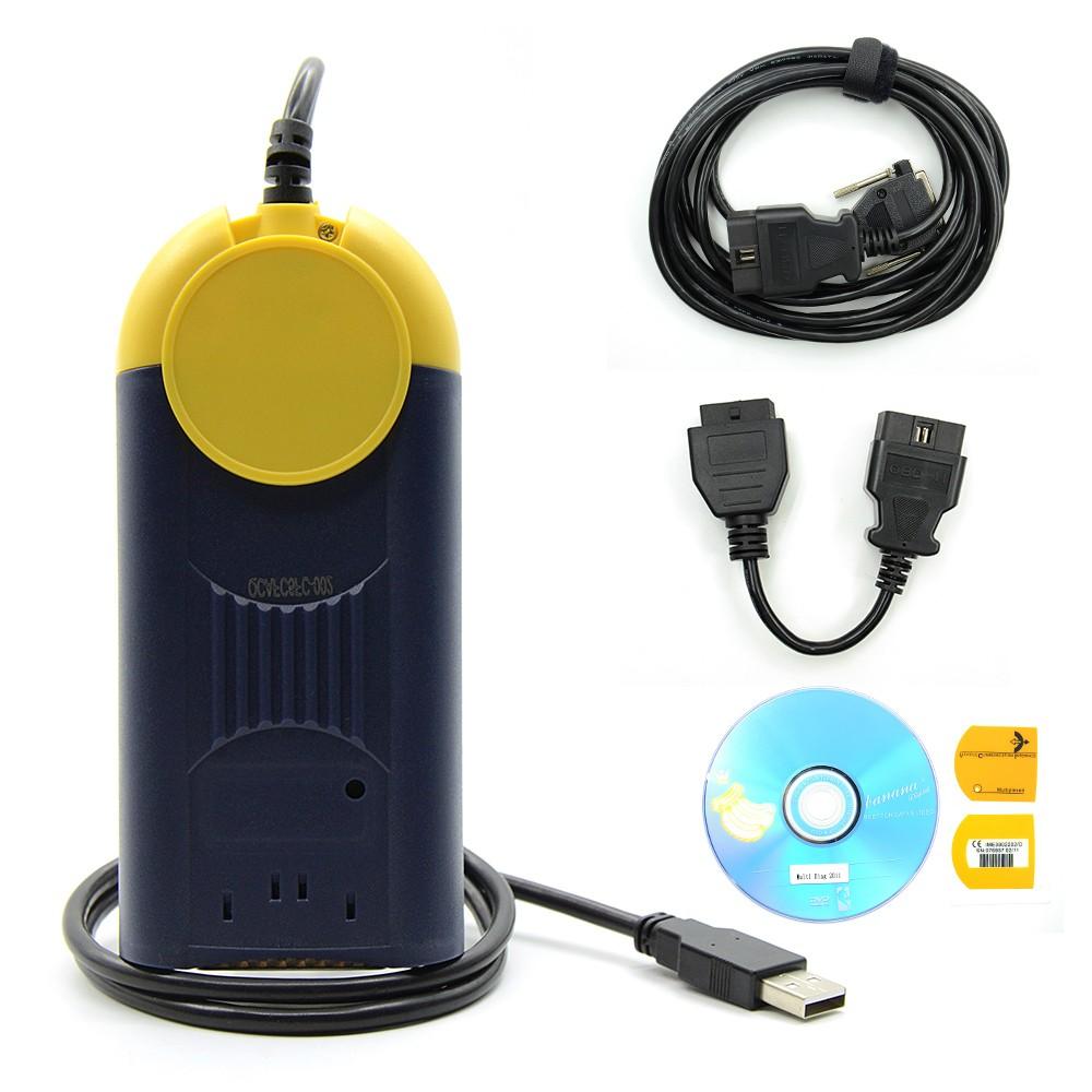 DHL Free V2011 Multi-Di@g Access J2534 Pass-Thru OBD2 Device multidiag MultiDiag J2534 Pass-thru J2534 Programmer(China (Mainland))
