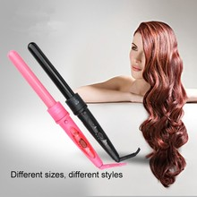 Buy High 410F 5P Hair Roller 5 in1 Removable Hair Curling Iron Conical Curling Wand Glove comb clip for $38.90 in AliExpress store