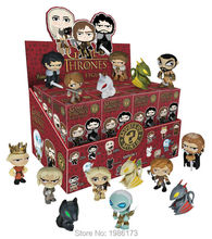 NEW 1pcs Game of Thrones BOX Mini Mystery Funko Figure Drogon WHITE WALKER NED ROB ARYA STARK JON SNOW DAENERYS