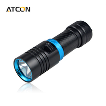 Waterproof IP68 4000LM LED Underwater light 100m CREE XML L2 LED Diving Flashlight Torch lamp For Outdoor Camping Diver lighting(China (Mainland))