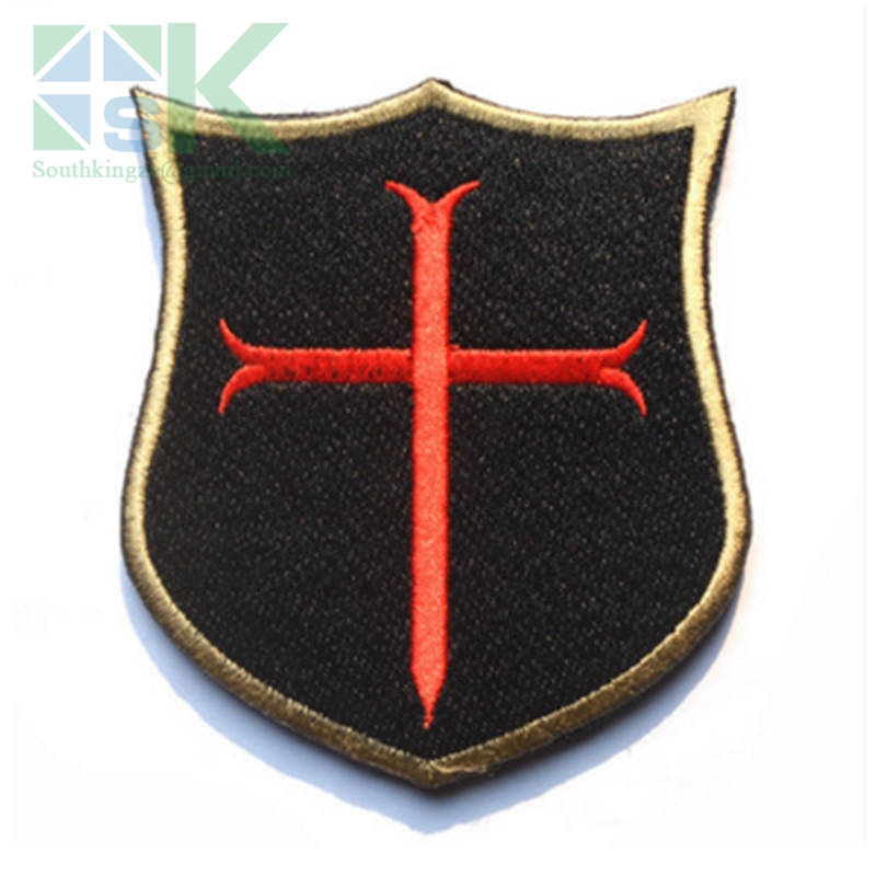 SK DIY Patches Fashion 1PC black sealteam Crusades armbands Embroidered Patches can Stick on clothes patch appliques DIY access(China (Mainland))