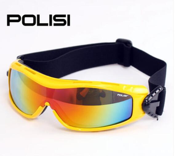 POLISI Children Kids Skiing Snow Eyewear Outdoor Sport Ski Snowboard Skate Goggles UV Protection  Snowmobile Goggle