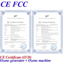 CE FCC ozone generator air purifier