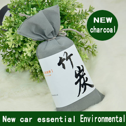 Automotive interior air freshener Bamboo charcoal Deodorant Carbon coated Car Air Purify essential Support Custom Factory(China (Mainland))