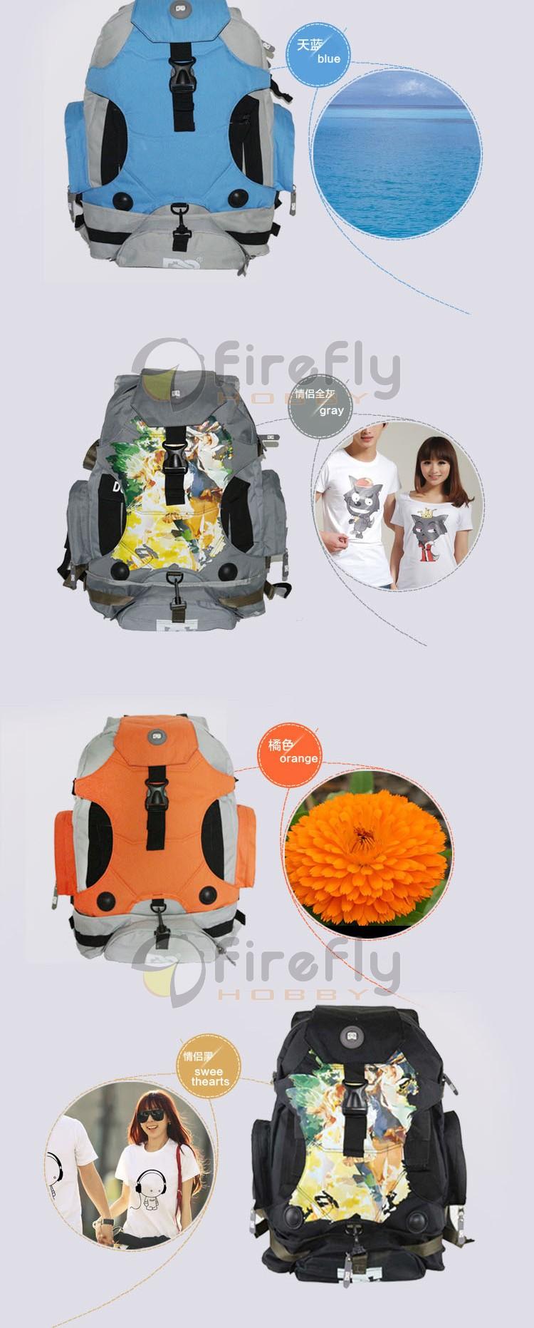 DJI Inspire 1 Accessory Waterproof Shoulder Backpack Multifunctional Backpack Carrying Bag