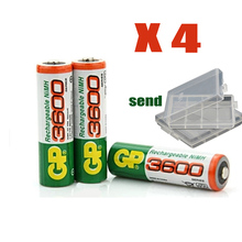 NEW GP super No 5 Rechargeable battery power bank 3600 MAh battery No 5 Free shipping