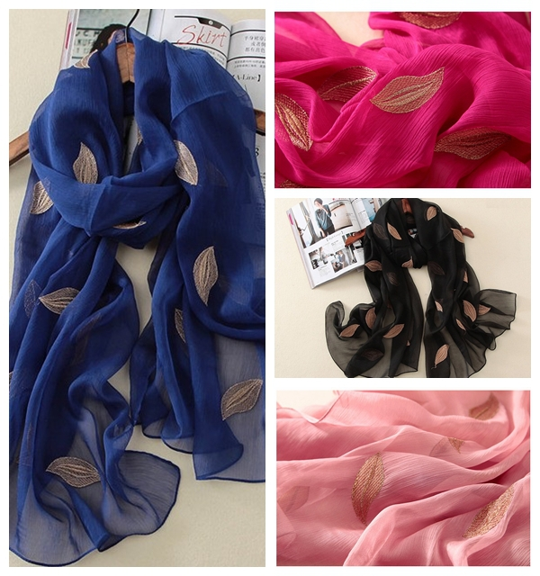 10 pcs/lot Free shipping 100% Silk Feeling Polyester Branded Fashion Luxury Scarves Cheap Scarf Embroidery Hijabe Nice Shawl(China (Mainland))