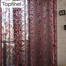 2015 modern shade tulle for windows sheer curtains for living room the bedroom kitchen blinds voile curtain fabric fotoshtory(China (Mainland))