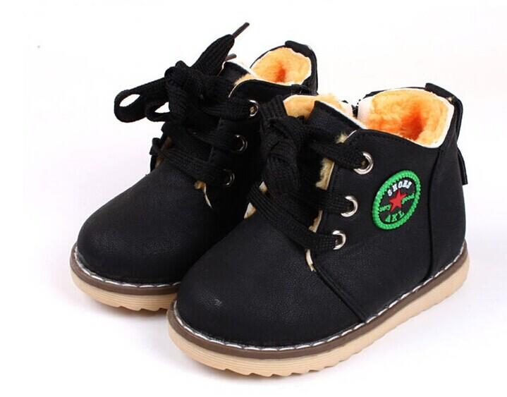 Модная обувь для мальчиков на зиму