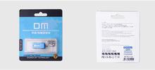 DM PD010 USB Flash Drive 32G OTG Smartphone Pen Drive Micro USB Portable Storage Memory Metal