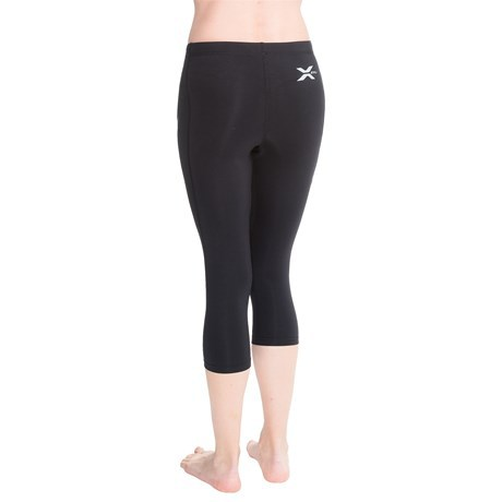 2016 New 2xu Womens Compression Tights 3/4 Pants Casual Elastic Waits Calf-Length Pants wicking Sweatpants Free shipping