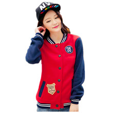 Sweatshirt 2016 Autumn Sport Suits Women Hoodies Number 35 Embroidery Tracksuit For Unisex Baseball Jackets HO-046(China (Mainland))