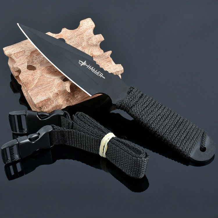 Buy Fixed Blade 440C Steel Tactical Knife Outdoor Survival Self-defense Camping Hunting Household Tool cheap
