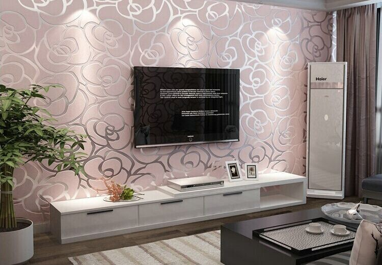 wallpaper rose picture more detailed picture about the. Black Bedroom Furniture Sets. Home Design Ideas