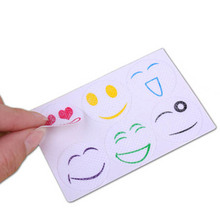 60 Stickers Smiley Insect Mosquito Repellent Stickers Patches Citronella Oil(China (Mainland))