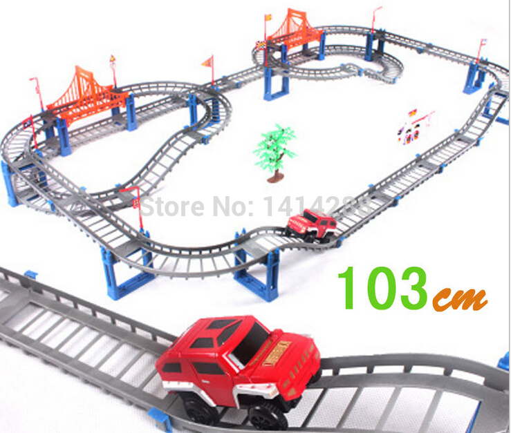New Electric Thomas & Friends Track Toy Railcar Children Vehicles Toy Car Model Building Kits Baby Educational New Year Gifts(China (Mainland))