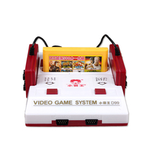 2016 Nostalgic Video Game Console to TV FC Classic Cassette Family TV Game Console Player with Yellow Game Card Card Wholesale(China (Mainland))