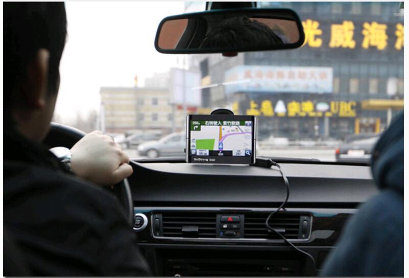 FREE SHIPPING 5inch car gps bluetooth car gps navigation bluetooth+Velocity function+Hands-free+Bracket+8G Memory(China (Mainland))
