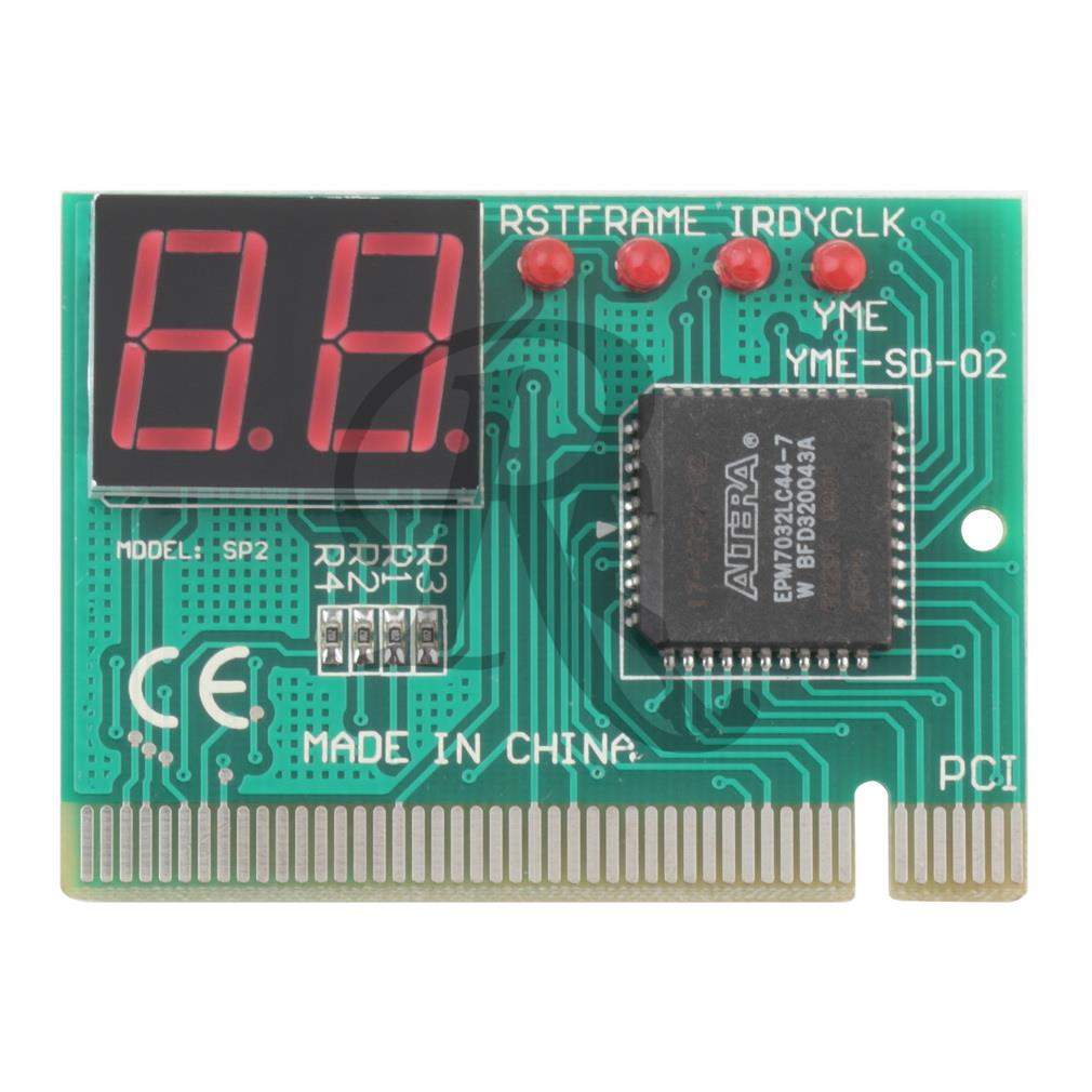 for computer PC diagnostic 2-digit pci card motherboard tester analyzer post code(China (Mainland))