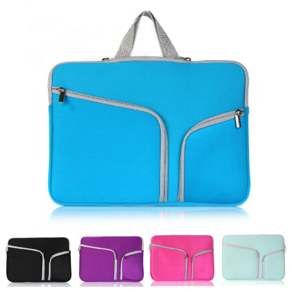 Lovely Waterproof Laptop Sleeve Bag Notebook Computer Briefcase Cover For Macbook air Pro 11.6 inch Laptop Case Women Men(China (Mainland))