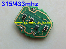 Buy 10pcs/lot High 3 Button PCB EWS System Remote Key Circuit Board 315MHZ/433MHZ Adjustable 2-in-1 Fit BMW E38 E39 E46 for $35.80 in AliExpress store