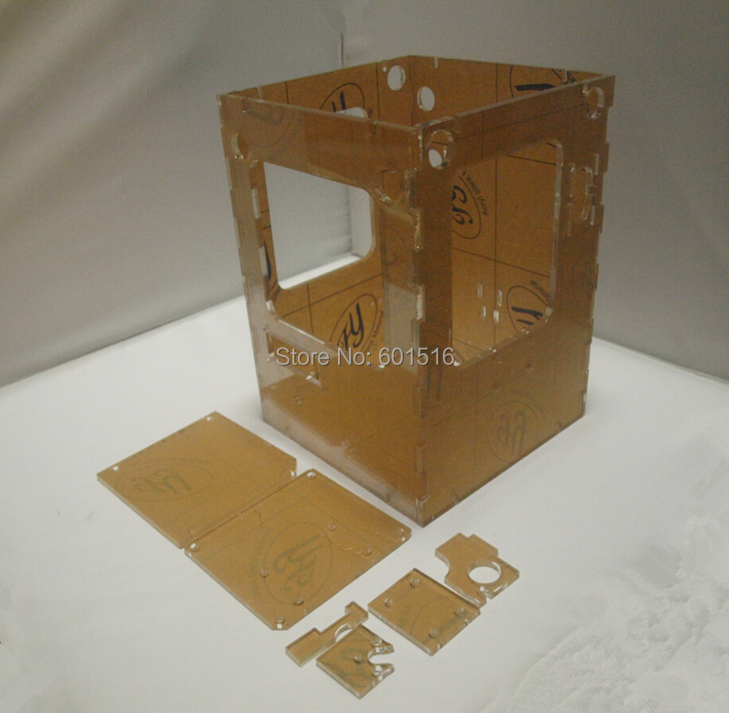 Фотография New 3D printer Reprap Tantillus frame, 6mm acrylic frame shell,free   shipping