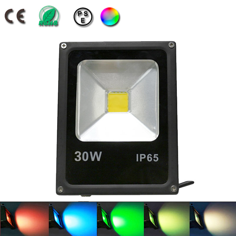 30w spot led flood light projecteur led rgb eclairage for Borne luminaire exterieur led