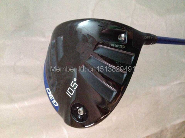 "BlACK G30 Driver G30 Golf Clubs Right Hand G30 Golf Driver Loft 9""/10.5"" R/S/SR-Flex Graphite Shaft With Head Cover & Wrench(China (Mainland))"