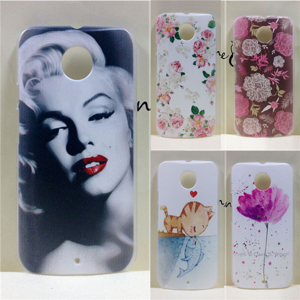 New Colored Painting Hard PC Plastic Cases Cover For Motorola Moto X2 2nd Gen 2014 X2 X+1 XT1097(China (Mainland))