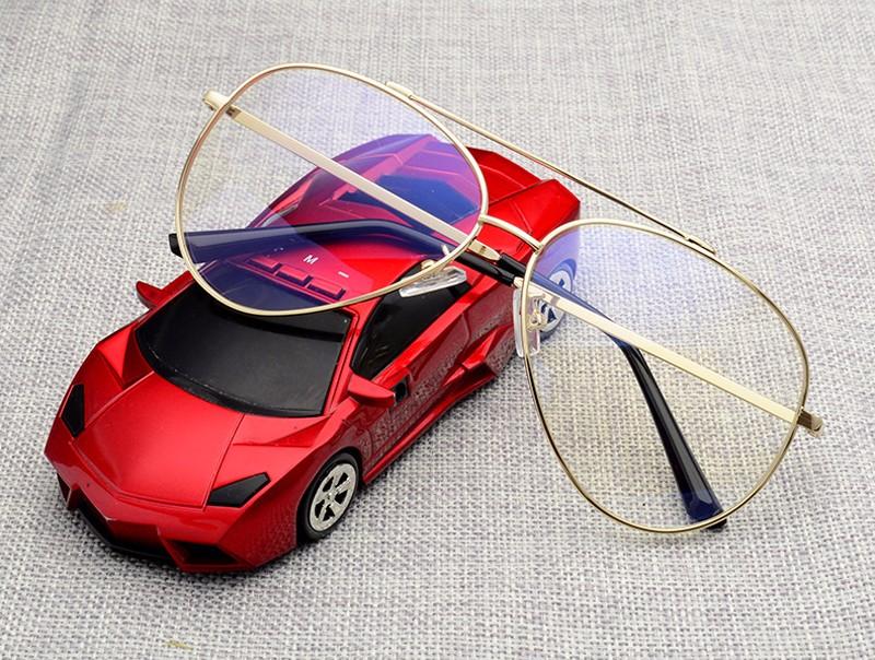 Großhandel Großhandels Mode Goldglas Rahmen Klare Linse Mens Brillen ...