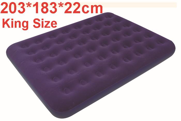 183 203 22 cm aufblasbare matratze camping luftmatratze. Black Bedroom Furniture Sets. Home Design Ideas