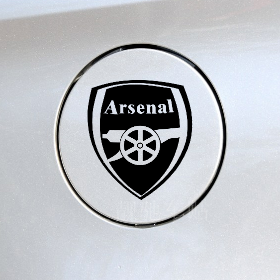 Modified team arsenal car sticker fans supplies car decoration car-styling football fuel tank car-covers sticker(China (Mainland))