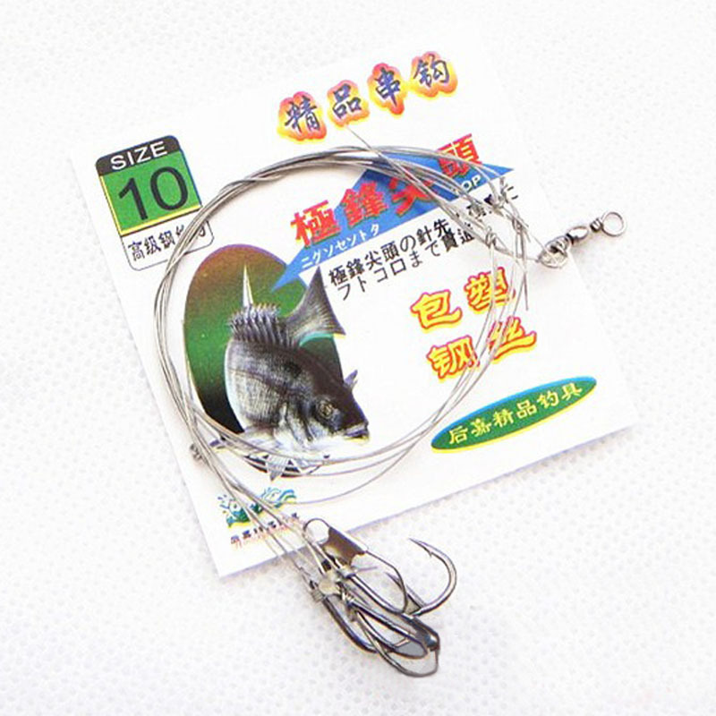String hook wire string hook fishing equipment fishhook for Wholesale fishing tackle suppliers