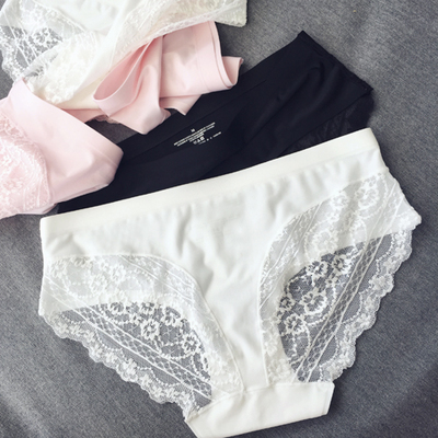 recommend the necessary summer custom paragraph ultra comfortable sexy lace stitching no trace of small underwear K309(China (Mainland))