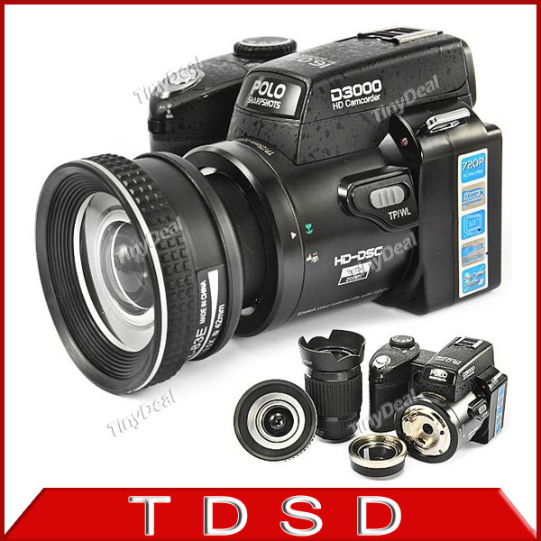 Цифровая фотокамера D3000 3.0