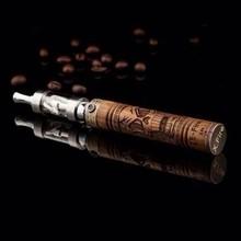 new wooden e fire vaporizer electronic e-cigarette smoking e-fire kit dual coil atomizer case mechanical mod manufacturer TZ020