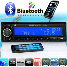 NEW 12V Bluetooth Car Radio Player Stereo FM MP3 Audio USB SD AUX Auto Electronics autoradio 1 DIN oto teypleri radio para carro(China (Mainland))