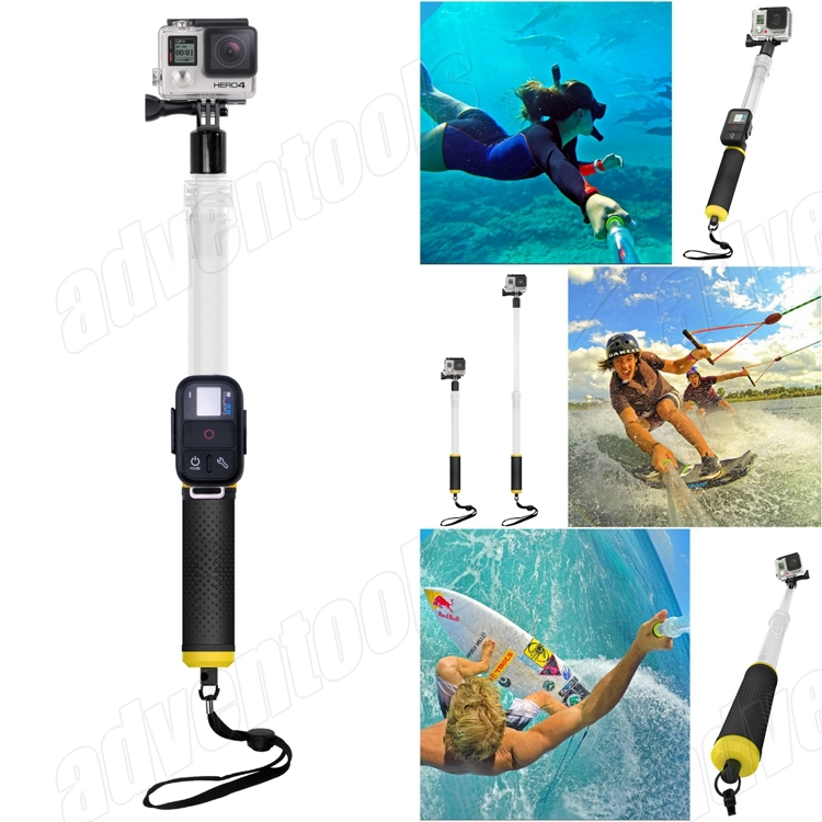 Hot Sell Multi-purpose Rectractable 7-Section Handheld Portable Monopod For