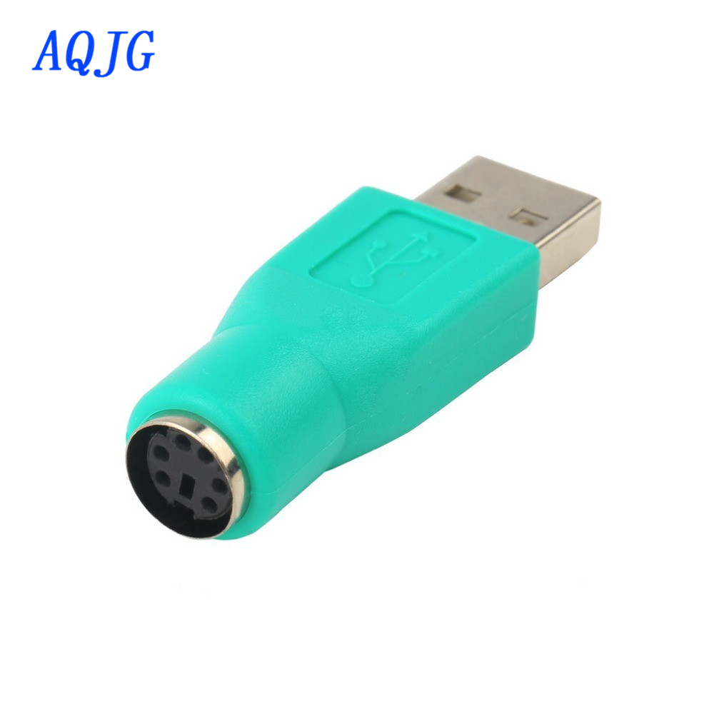 Newest Hot 1pcs USB Female to P/S2 PS/2 Male Adapter Converter keyboard Mouse Mice &Wholesale Alipower Drop Shipping AQJG